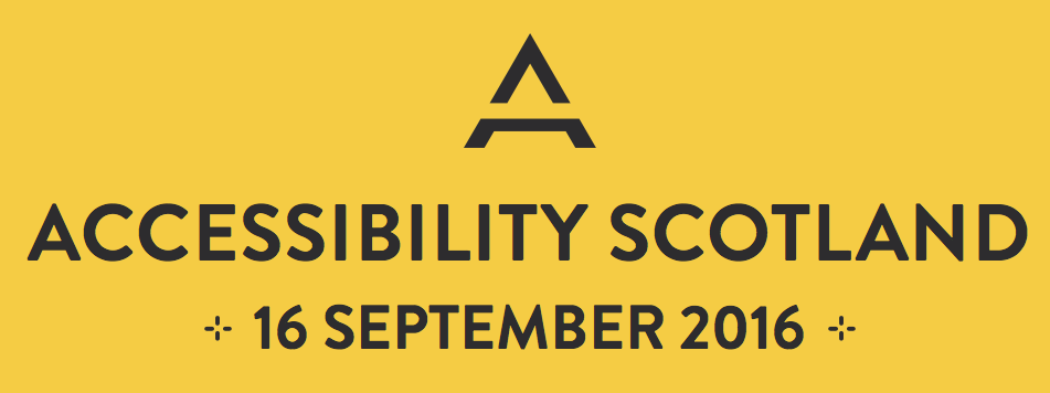 First Scottish conference dedicated to web accessibility