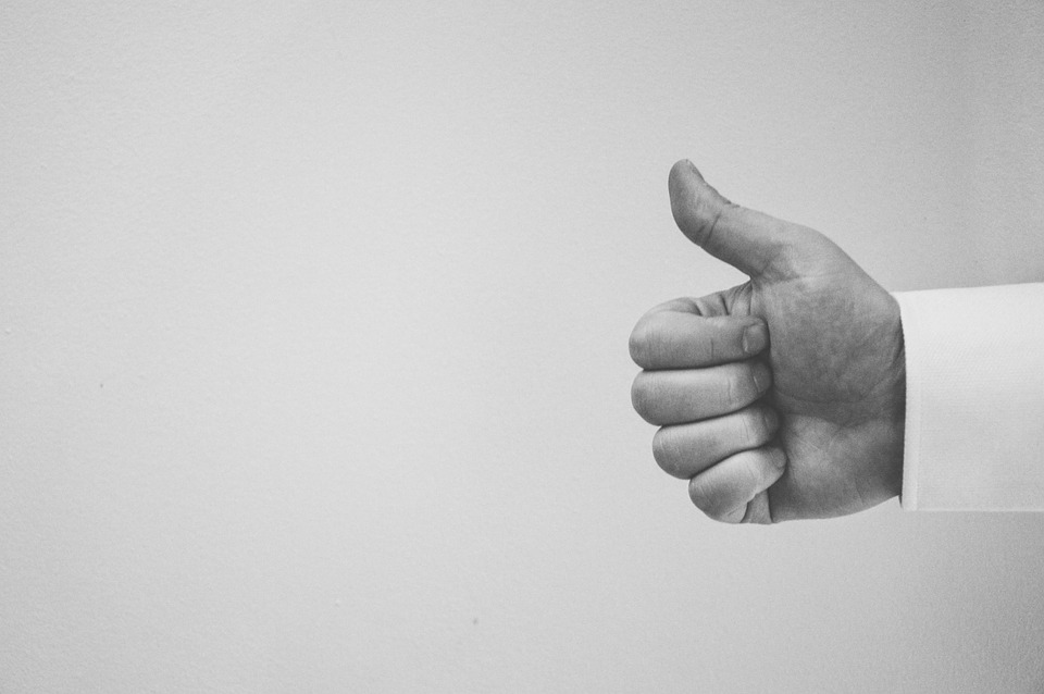 thumbs up to content marketing