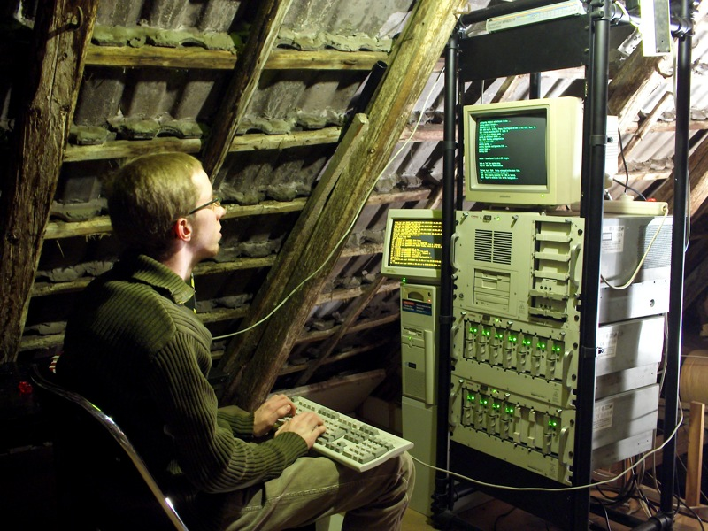 unix server attic hideaway