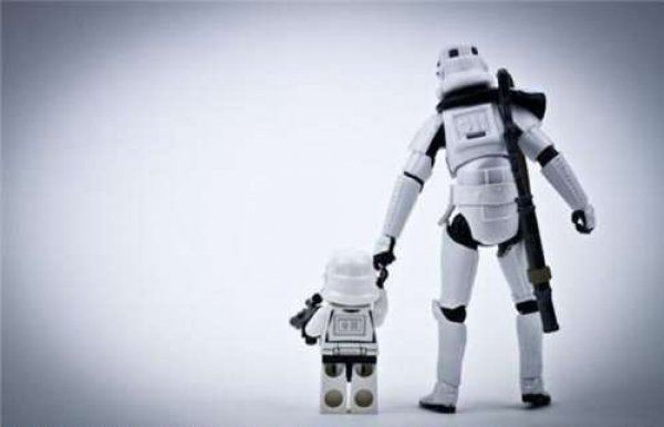 our storm trooper parents