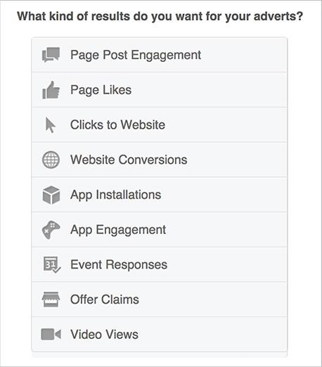 facebook ads best practice campaign goals