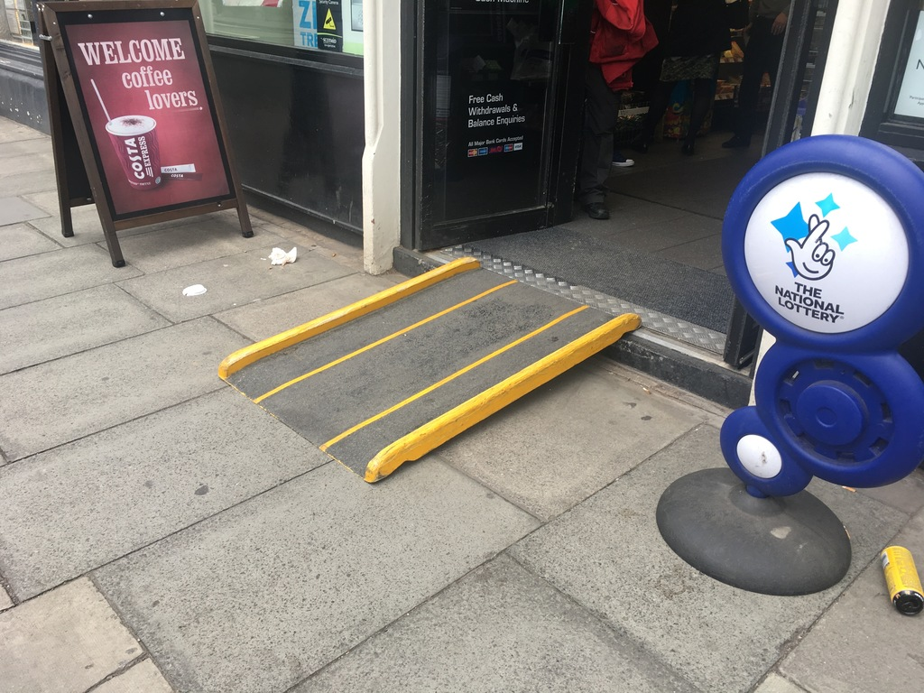 accessibility ramp inclusive design