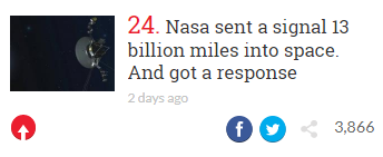 indy100 nasa clickbait title