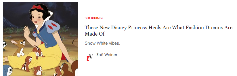 teen vogue disney shoes clickbait title