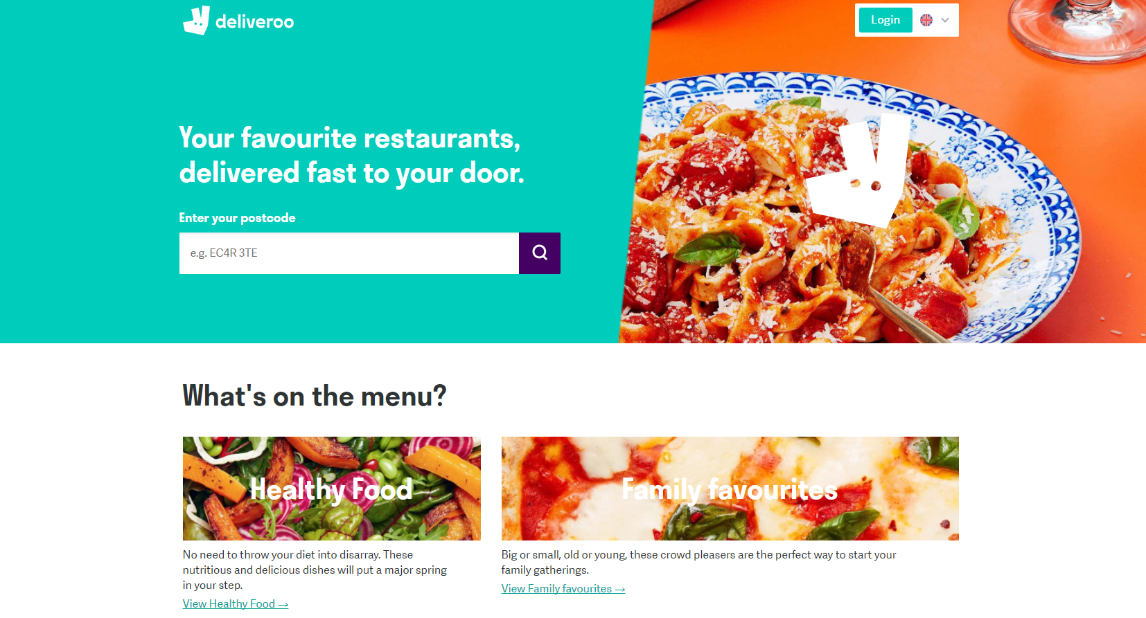 deliveroo value proposition
