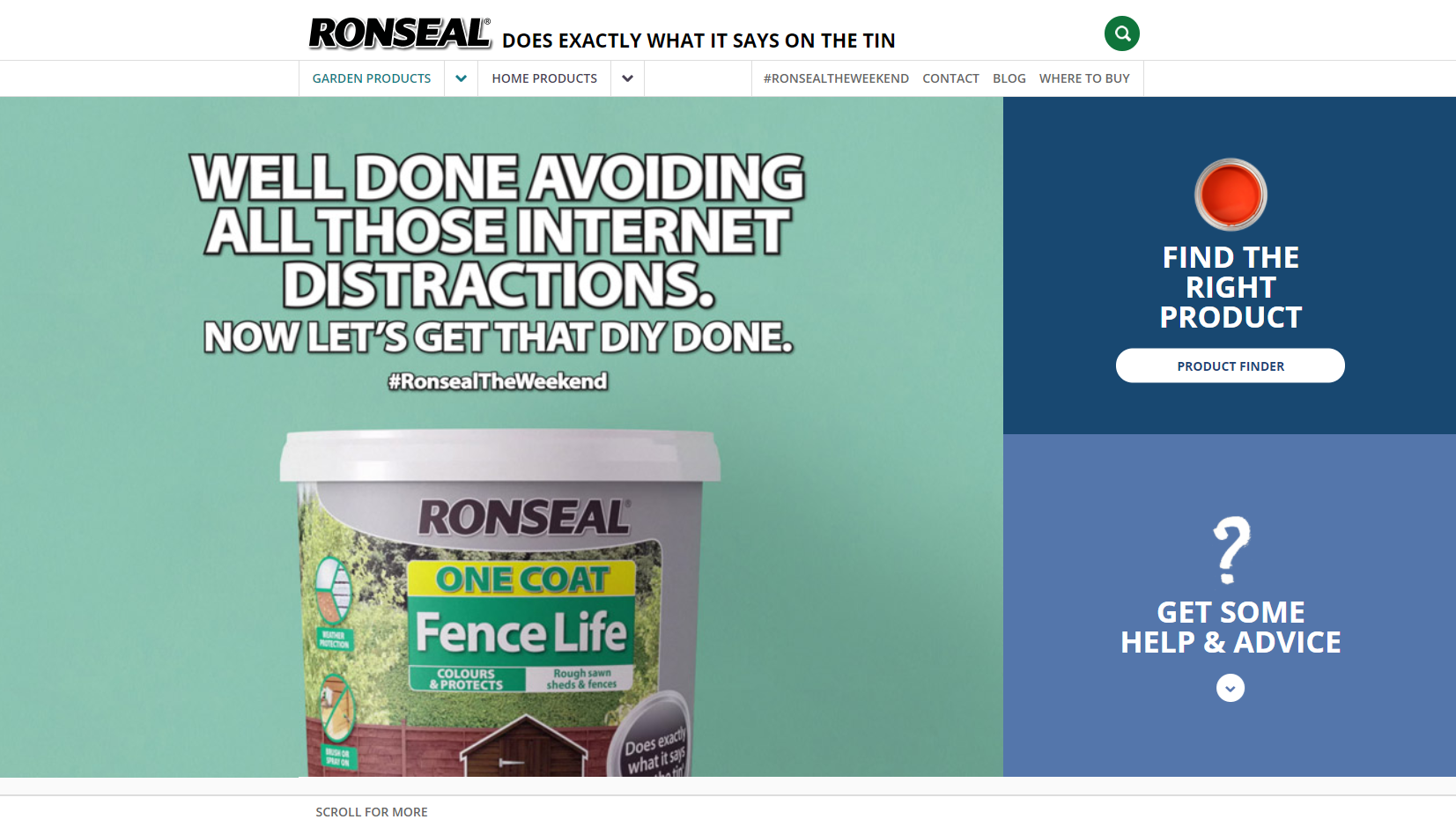 ronseal value proposition