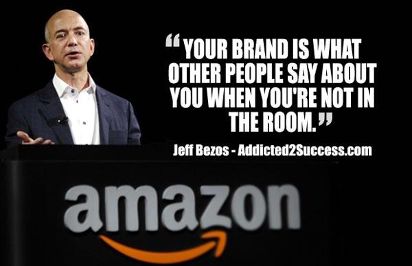 jeff bezos nurturing your brand