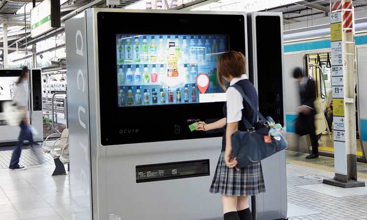 Acure vending machine