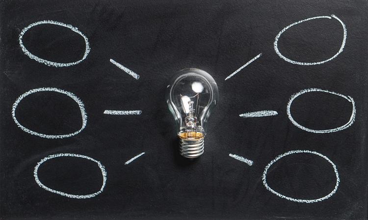 Brainstorm light bulb